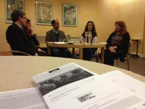 """Politkrimi """"Grenzfall"""" in der Veranstaltungsreihe """"Politisches Quintett"""" vorgestellt"""