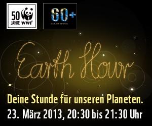 Earth Hour 2013 - Ja zur Energiewende!