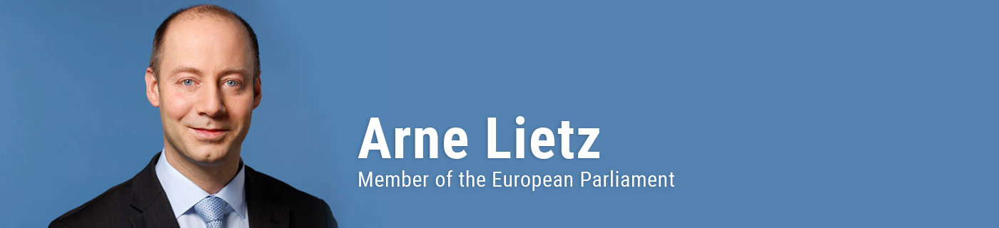 Arne Lietz, MEP – English Pages